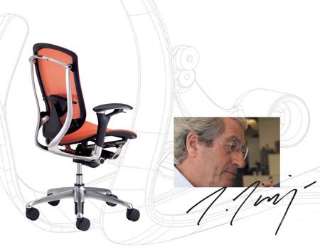 Bürostuhl Contessa von Giorgetto Giugaro